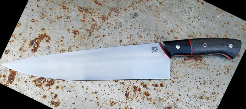 Greg Cimms AEBL Stainless Euro-style Chef's Knife 220mm
